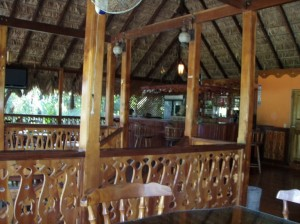 bar and restaurant at mar azule in moin